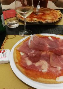 Glutenfreie Pizza in der Pizzeria Giulietta